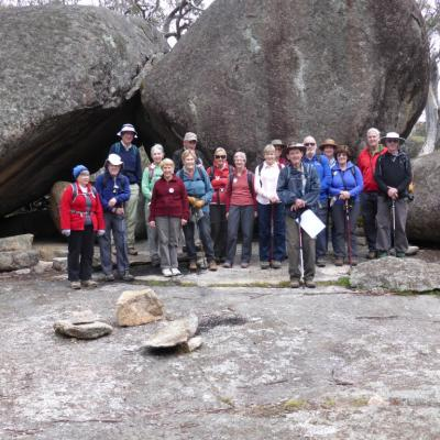 Ridge of Stone walkers 2014 06 05