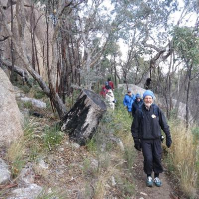 Gibraltar Peak walk, 17 June 2018