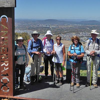 One Tree Hill on the Canberra Centenary Trail, 1 March 2018