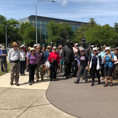 Walk with John Curtin and Ben Chifley 9 November 2018 Singleton