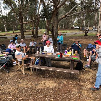 after the walk at Lake Ginninderra 16 December 2018 Singleton IMG 1866