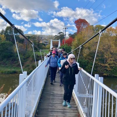 crossing the Queanbeyan River 26 May 2019 Singleton IMG 4001
